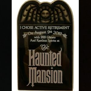 Limited Edition Haunted Mansion Anniversary Pin